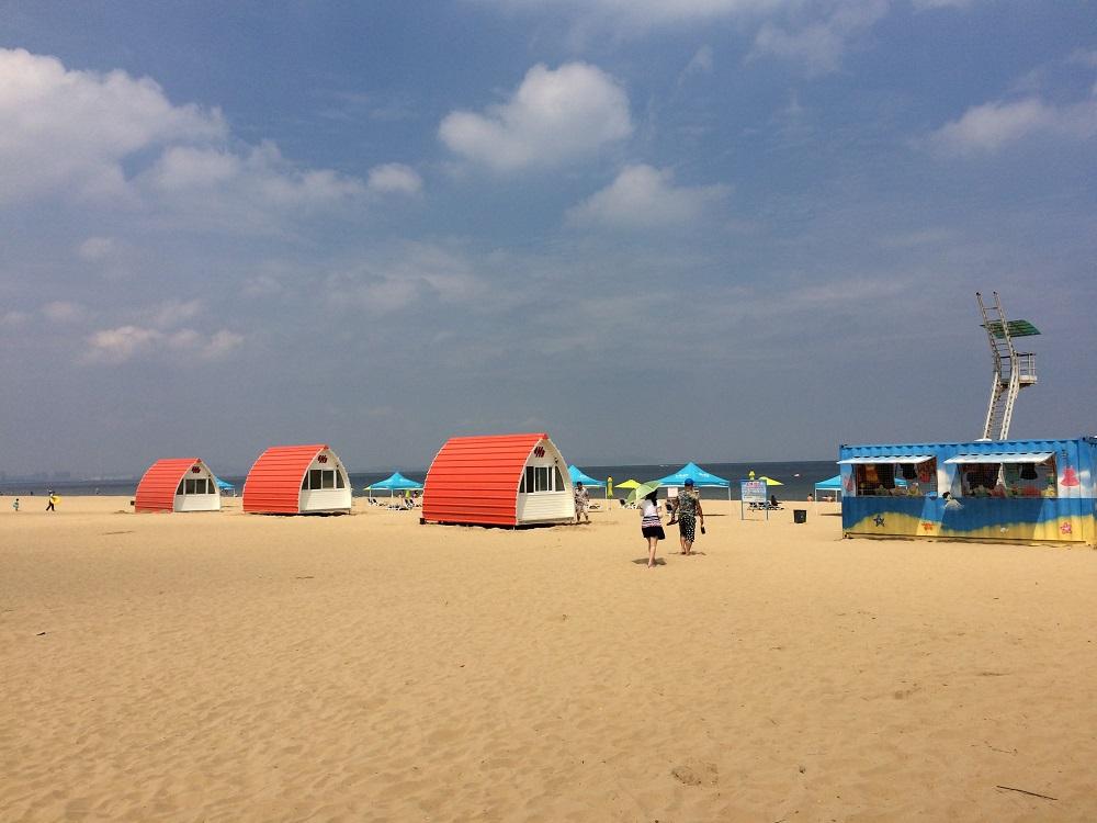 烟台海滨沙滩户外营地项目