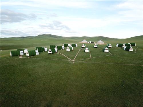 内蒙古乌拉盖九曲湾户外营地项目