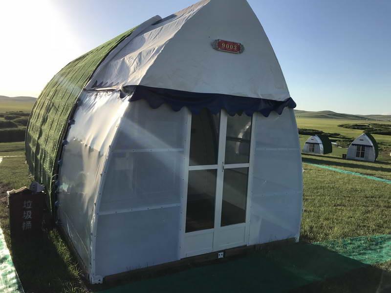 户外篷房:走进酒店帐篷的独特时光